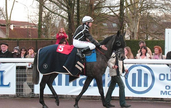 Surgeon de Sivola, 3ème du Grand Steeple Chase de Pau