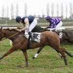 Victoire d'EAU de VIE Sivola en cross à Paray-Le-Monial